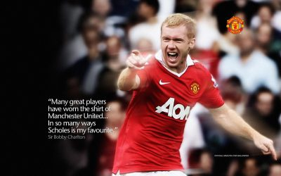 Paul Scholes Widescreen for desktop