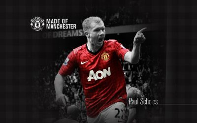 Paul Scholes widescreen wallpapers