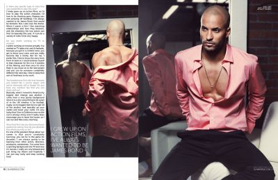 Ricky Whittle HQ wallpapers