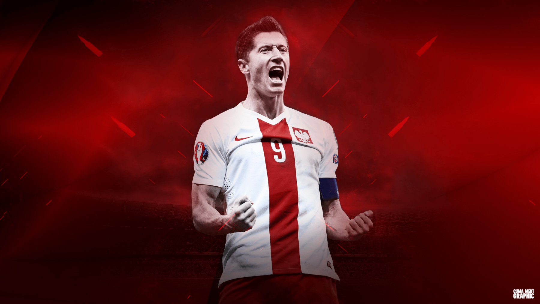 Robert Lewandowski HD Desktop Wallpapers