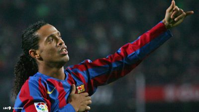 Ronaldinho widescreen wallpapers