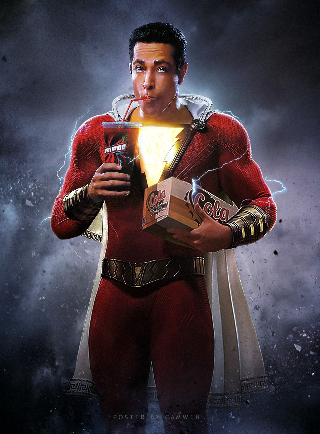 Shazam Hd Wallpapers 7wallpapers Net
