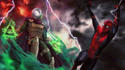 Spider-Man: Far From Home Desktop wallpaper