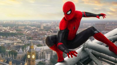Spider-Man: Far From Home Shiny wallpapers