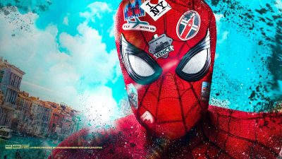 Spider-Man: Far From Home Funny Wallpapers