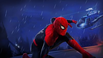 Spider-Man: Far From Home Screensavers