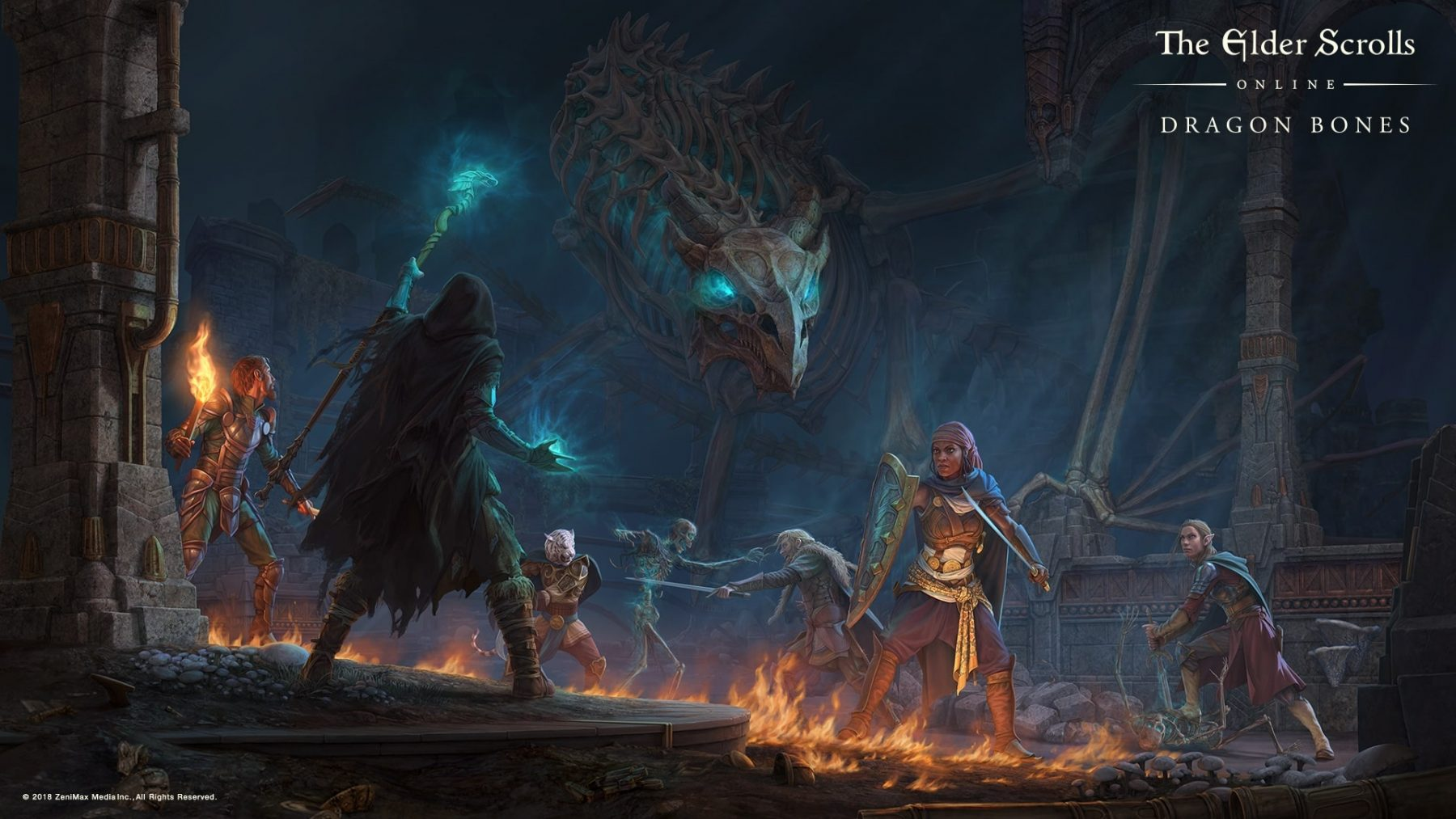 The Elder Scrolls Online Hd Wallpapers 7wallpapers Net