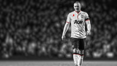 Wayne Rooney Widescreen for desktop