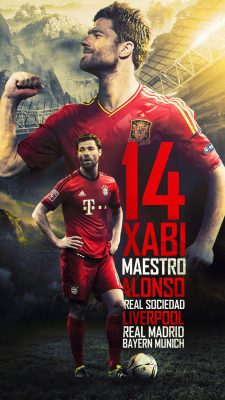 Xabi Alonso For mobile