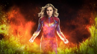 Captain Marvel Backgrounds