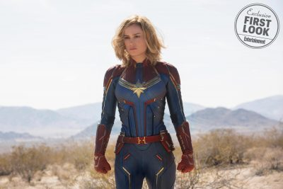Captain Marvel Widescreen for desktop