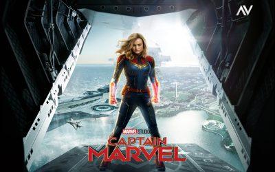 Captain Marvel Desktop wallpaper